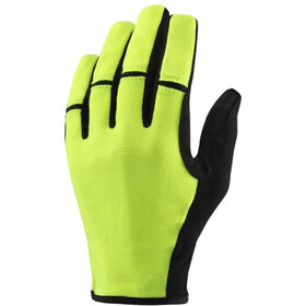 Mavic Essential LF Bike Gloves Men yellow/black